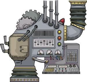 complex fantastic machine